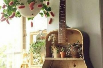 guitare upcycling
